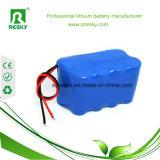 18650 paquetes 14.8V 6600mAh para los aparatos médicos, luz de la batería de litio del faro