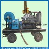 Macchina ad alta pressione di pulizia dello scolo del pulitore del tubo per fognatura del motore diesel
