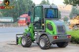 Heißer Verkaufs-kleine Rad-Ladevorrichtung mit der Kapazität der Wannen-0.5m3 für Garten