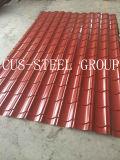 840 lamelles de toit ondulé côtelé / panneau de toit à haute nervure