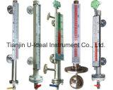 Acqua, trasmettitore magnetico dell'indicatore di livello del galleggiante dell'olio, tester dell'indicatore di livello di vetro di vista trasparente e riflessa
