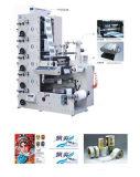 Печатный станок ярлыка Flexo Flexographic собственной личности цвета Rtry-450e 5 слипчивый