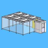 クリーンルームのためのClass10~10000空気清潔のきれいなブース