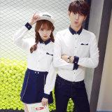 Uniforme escolar medio de Corea del último diseño 2016 alto para los adolescentes