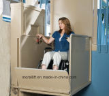 Elevación casera de la plataforma del sillón de ruedas pequeña para lisiado o las personas mayores