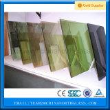 Blaues graues Bronzegrün tönte farbigen reflektierenden Glaspreis ab