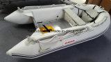barco inflável do esporte do barco de enfileiramento do barco do PVC de 3m com Ce de alumínio do assoalho