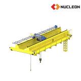 El taller del nucleón especializó la grúa de arriba de la viga doble de 4 ruedas 7.5 toneladas