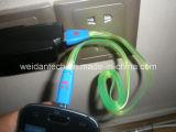 Cable brillante del USB del micr3ofono del LED