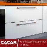 Armadio da cucina moderno della lacca della vernice di essiccamento della casa arancione della caramella (CAIK-01)
