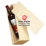 High personalizado Grade Wooden Wine Display Gift Box com Lids