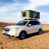 Tente dure campante extérieure de dessus de toit de véhicule d'interpréteur de commandes interactif avec la qualité d'annexe