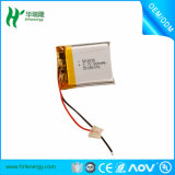 Batería 350mAh de Lipo 3.7V 502035 de la mejor calidad del OEM alta