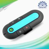 V4.1 중국 영불 스페인어와 가진 다지점 Bluetooth 핸즈프리 차 장비 챙 클립 스피커 전화 4개의 언어