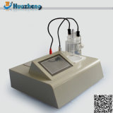 Hzws-2 자동적인 Karl Fischer 습기 Titrator 변압기 기름 수분 함량 검사자