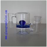 Tubulação de água de vidro