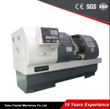 Macchina lunga Ck6150 del tornio della base di CNC di regolazione di velocità di Stepless dei tre attrezzi