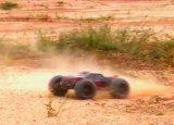 Chasis del metal de la velocidad 80km/H 1/10 coche eléctrico 4X4 sin cepillo de RC teledirigido