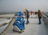 Concreto, ponte, máquina de sopro do tiro da superfície de estrada