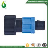 Bewässerung-Plastikgegenmutter-Befestigung für Tropfenfänger-Band