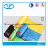 高品質のプラスチックドローストリングのごみ袋