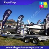 Erstaunlich Werbung Vollfarbdruck Fliegen-Segel-Flagge Banner