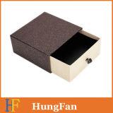 Caixa deslizante de papel extravagante de carimbo por atacado do pacote da gaveta do logotipo da fábrica
