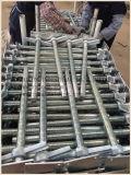 Elettrico/zinco ha placcato/base di vite registrabile galvanizzata dell'armatura Jack