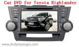Lecteur DVD spécial de véhicule d'Andriod pour le montagnard de Toyota