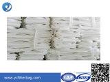 Alti sacchetti filtro della polvere del poliestere di Efficency di filtrazione