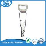 China-heißes Verkaufs-Silber überzogener Metallbierflasche-Öffner