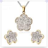 De Reeks van de Juwelen van het Roestvrij staal van de Juwelen van de Manier van de Juwelen van Crystail (JS0234)