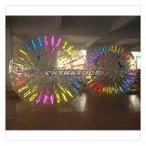 boule de commande gonflable mélangée par couleur de Zorb de lueur de 2.5/3m