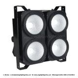 4*100W wärmen weißes LED-Studio-Publikums-Licht