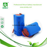 De Levering van de Macht van de Pakken van de Batterij van het lithium 9.6V 12V 2ah voor Zonnepaneel met RoHS