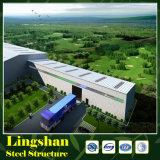 Construction légère préfabriquée environnementale d'usine/entrepôt de structure métallique