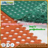 Interlock Colorful Drianage Rubber Mat for Kitchen, Wet Areas