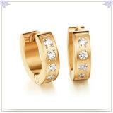 De Oorring van het Roestvrij staal van de Juwelen van het Kristal van de Juwelen van de manier (EE0120)