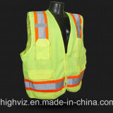 Veste elevada da segurança da visibilidade com ANSI07 (C2026)