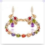 Joyería cristalina de la manera de los complementos de la joyería fijada (AJS190)