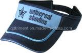 Viseira respirável do esporte do bordado do engranzamento do poliéster da qualidade superior (TRV004)
