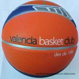 Баскетбол шарика прочного изготовленный на заказ печатание спорта резиновый