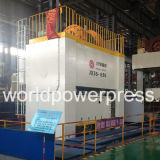 Tipo próximo máquina de 630 toneladas da imprensa de potência da manivela do dobro