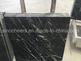 Azulejos negros de piedra naturales de Marblle Marquina