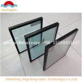 Vidrio aislador con los espaciadores de aluminio