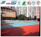 다채로운과 안전 고무 스포츠 마루, 편리한 장식적인 운동장 지면