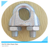 Agrafe malléable de câble métallique d'agrafe de câble métallique DIN741
