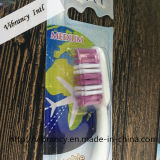 Qualitäts-faltbare Arbeitsweg-Zahnbürste