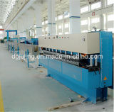 Linha de produção máquina do cabo distribuidor de corrente do cabo da isolação da extrusão do fio do cabo