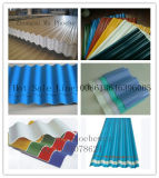 Линия штрангя-прессовани рифленого листа PVC - плитка толя